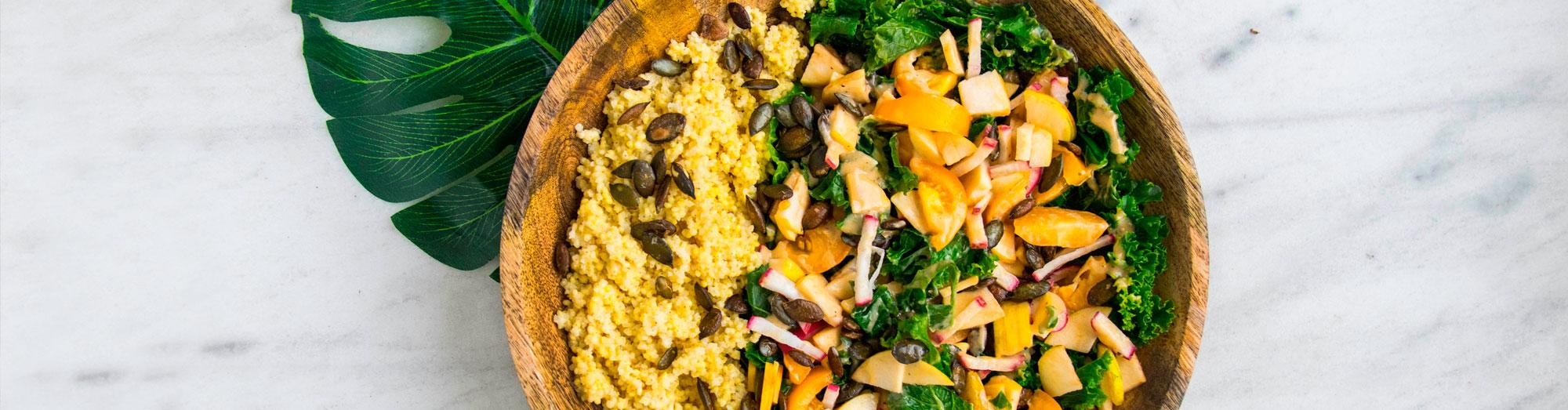 Ricetta per l'insalata di cous-cous