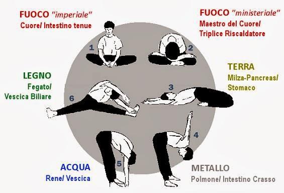 Pratiche per la salute. Stiramento dei Meridiani Makko-Ho